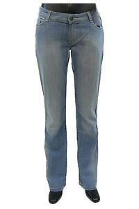 Clothing, Shoes & Accessories Energetic Blend She Stretch-jeans Gerade Form Bleached-used 6900-603