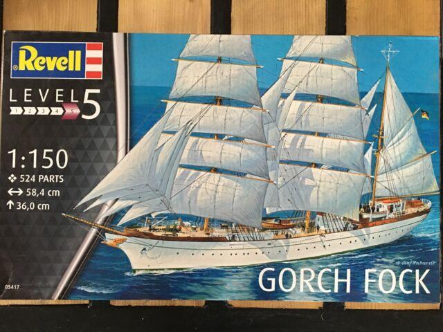 REVELL 05417 Gorch Fock 1/150.