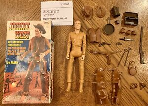 Marx-Johnny-West-Vintage-Cowboy-Campfire-Box