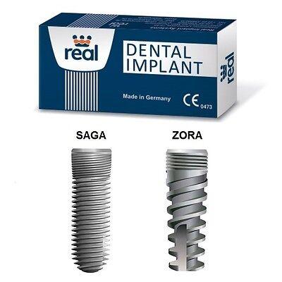 30x REAL Dental implant ZORA / SAGA Internal Hex System German Quality $958