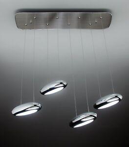 Drop Design 4b Lampadario Led A Sospensione Per Soggiorno Moderno Ebay