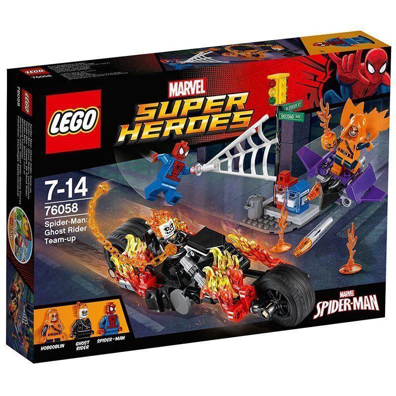 LEGO 76058 Super Heroes Spider-Man Ghost Rider Team-up
