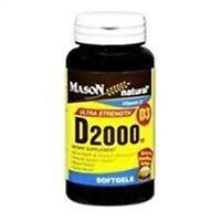Mason Vitamin D Softgel 2000 Iu - 300 Softgels