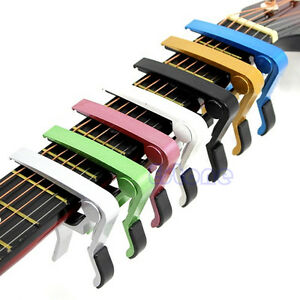 New-Trigger-Quick-Change-Key-Clamp-Capo-For-Acoustic-Electric-Classic-Guitar-Hot