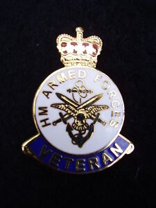 HM-Armed-Forces-Veterans-Military-Lapel-Pin-Badge-ARMY-GUARDS-PARA-RAF-RN-RM-SBS