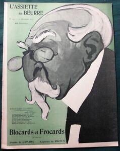 L-039-Assiette-au-Beurre-175-034-Blocards-amp-Frocards-034-1903-French-Political-Satire-Art