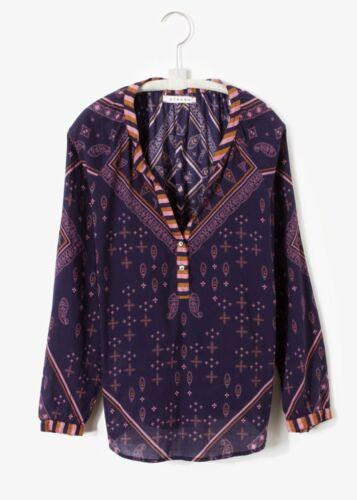 NWT Xirena $198 Hemingway Top in Southern Blue; M L