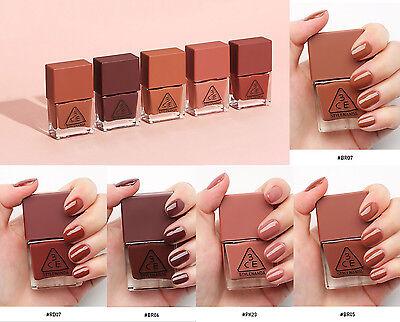 STYLENANDA 3CE Mood Recipe Long Lasting Nail Lacquer, Nail Polish Korea Cosmetic