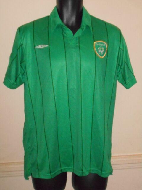 REPUBBLICA d'Irlanda Home Camicia 2011-2012 MEDIUM MEN'S #1099b