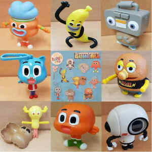 McDonalds-Happy-Meal-Toy-2018-UK-Cartoon-Network-Gumball-Plastic-Toys-Various