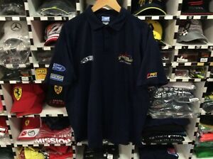 STONE-BROTHERS-RACING-MARCUS-AMBROSE-V8-CHAMPION-2003-POLO-MINT-SIZE-XL