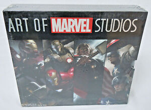The-Art-of-Marvel-Studios-4-Book-Slipcase-Marvel-Comics-TPB-Paperback-New-Sealed