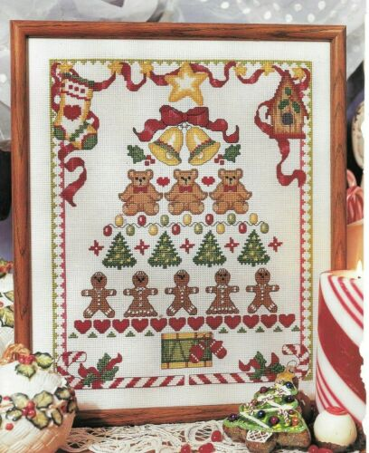Cross Stitch Christmas Tree Sampler NEW Pattern