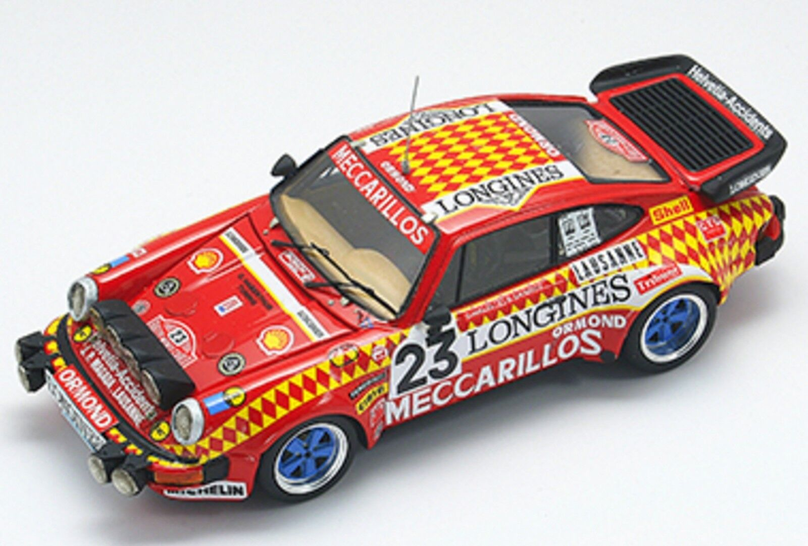 kit Porsche 930 Turbo Gr.4  23 Rally Montecarlo 1981 - arena models kit 1 43