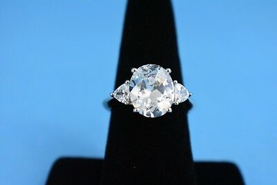 Sterling Silver CZ Size 7 Engagement Ring by AVON NEW in Box