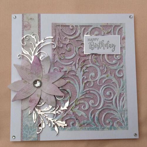 Christmas Lace Pattern Frame Metal Cutting Die DIY Album Stencil Embossing Craft