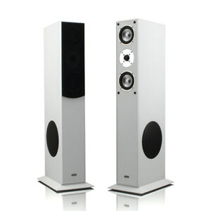 1-Paar-mohr-SL15-Standlautsprecher-Standboxen-Lautsprecher-2-0-System-Neu-weiss