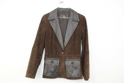 w717 Brown 21 Size Womens 10 Marks No amp; Uk 5 Jacket Leather Spencer 1RxtvPxq