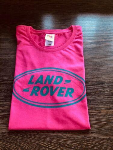LAND ROVER Dakar Rally Off-Road 4x4 Range Rover T-shirt Shirt Women Ladies Pink
