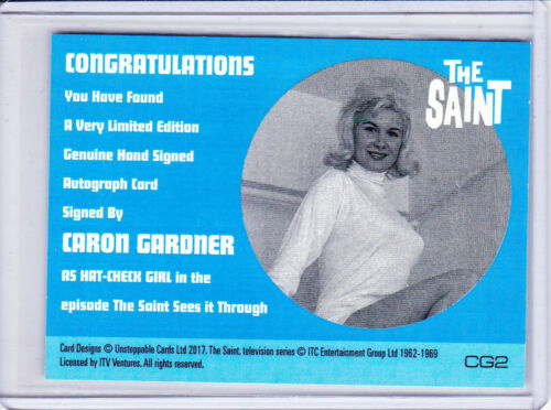 Unstoppable Cards The Saint Series 2 Autograph Auto Trading Card Selection