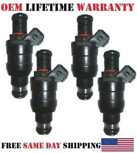 Remanufactured Set of 4 Fuel Injectors 1998-2000 Mazda B2500 2.5L I4 OEM LUCAS