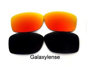 Galaxie Verres de Rechange pour Oakley Jupiter Squared Noir Rouge ... d9dd82c014ea