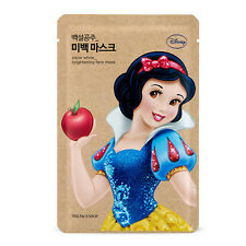 THE FACE SHOP Disney The Snow White Brightening FACE MASK Korea Cosmetic 1 Sheet