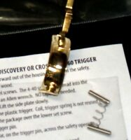 Wide Brass Trigger Upgrade For Benjamin Discovery Or Crosman 2260 Air Rifles