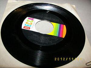 Bing-Crosby-White-Christmas-God-Rest-Ye-Merry-Gentlemen-45-VG