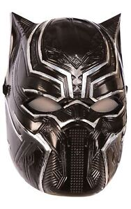 kids black panther metallic mask marvel avengers ebay