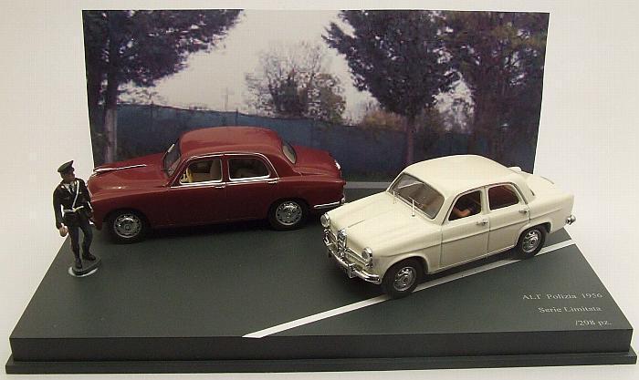 Alfa romeo 1900 + alt alfa  romeo giulietta polizia set limited 1 43 rio4318d rio  les dernières marques en ligne
