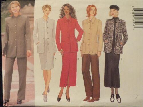 OOP BUTTERICK 5836 MS//MP Jacket Skirts /& Pants PATTERN 8-10-12//20-22-24 UC
