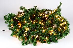weihnachtsgirlande beleuchtet