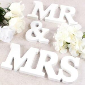 039-039-Mr-amp-Mrs-039-039-Wooden-Letters-Wedding-Top-Table-Sign-Gift-Home-Party-Decor-White