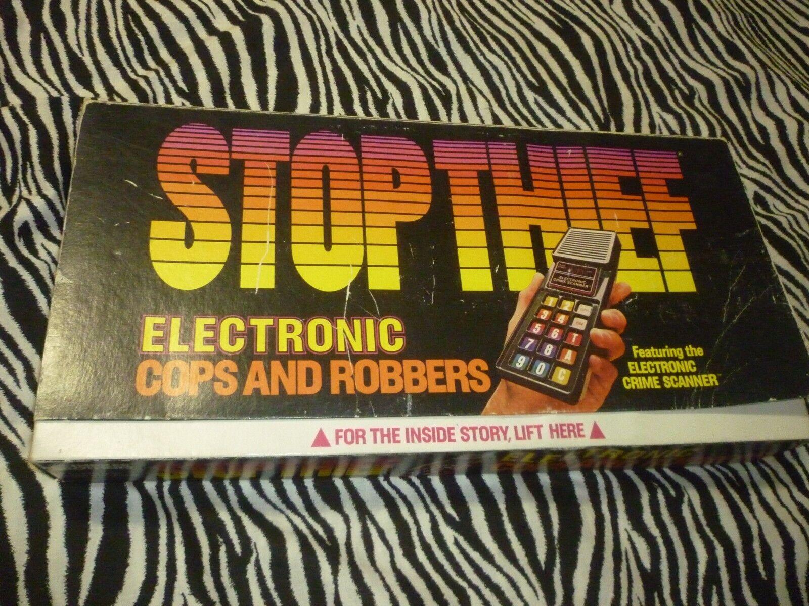 Diebe elektronische 1979 vintage - spiel.