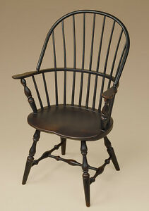 Beau Image Is Loading Sack Back Windsor Arm Chair Black Dining Or