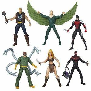 Figurine d'action de 3,75 pouces de la série Marvel Infinite Doc Ock Daredevil Spiderman