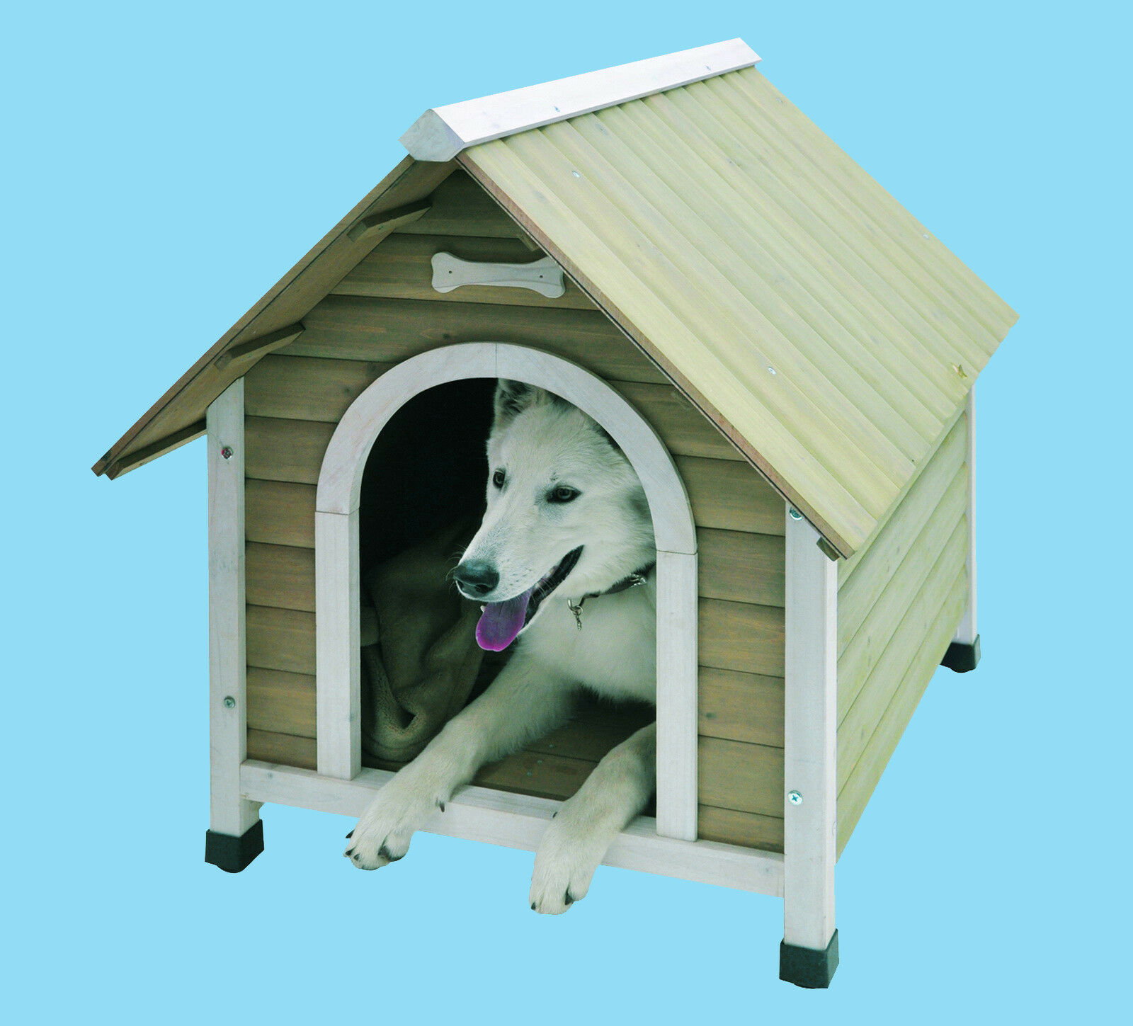 nobby hundehütte civetta 2 java hundehaus hundeschlafplatz