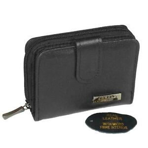 Ladies-Real-Leather-Purse-Womens-Genuine-Soft-Leather-Wallet-RFID-Protected