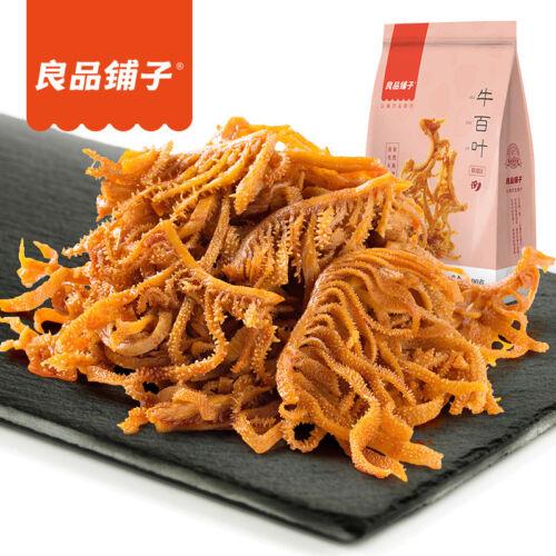90g*4袋=360g正宗良品铺子麻辣味牛肚丝户外旅行办公室休闲食品包邮Chinese snack LIANG PIN PU ZI beef belly