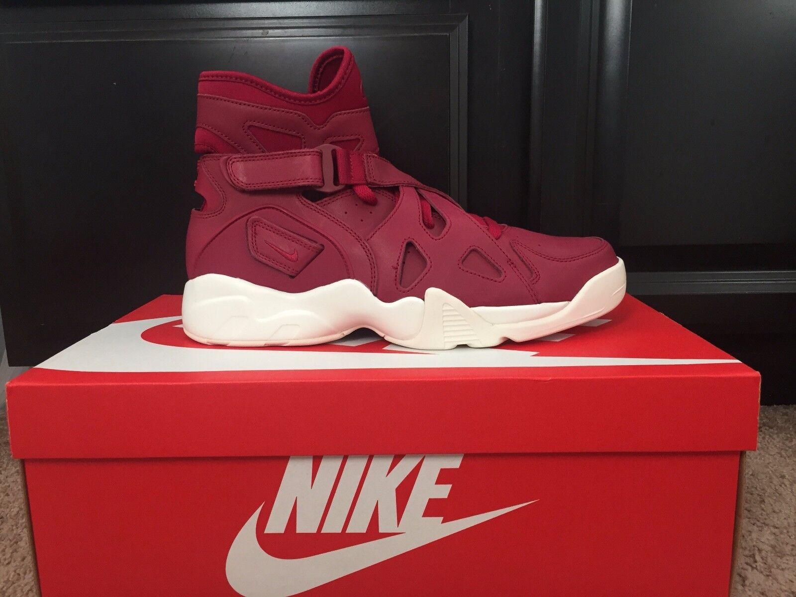 Nike air illimitata 854318-661 dimensioni nobile rosso / nobile red vela