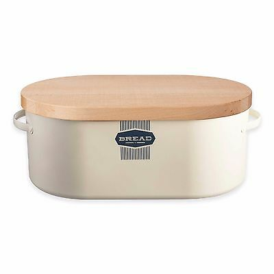 Typhoon Vintage Belmont Bread Box in Cream