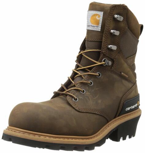 """Carhartt Men's 8"""" Waterproof Composite Toe Leather"""
