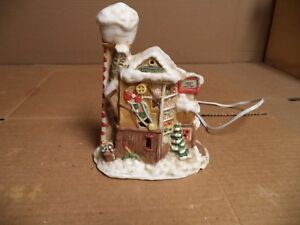 image is loading christmas village lighted house 034 santa toy factory