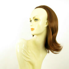 DT Half wig HairPiece extensions coppery golden brown 15.7  REF :18/30