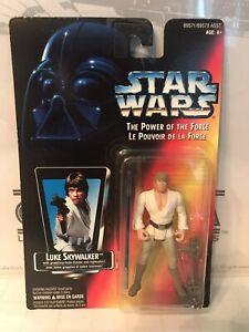 Star Wars Le pouvoir de la force Luke Skywalker French French Card