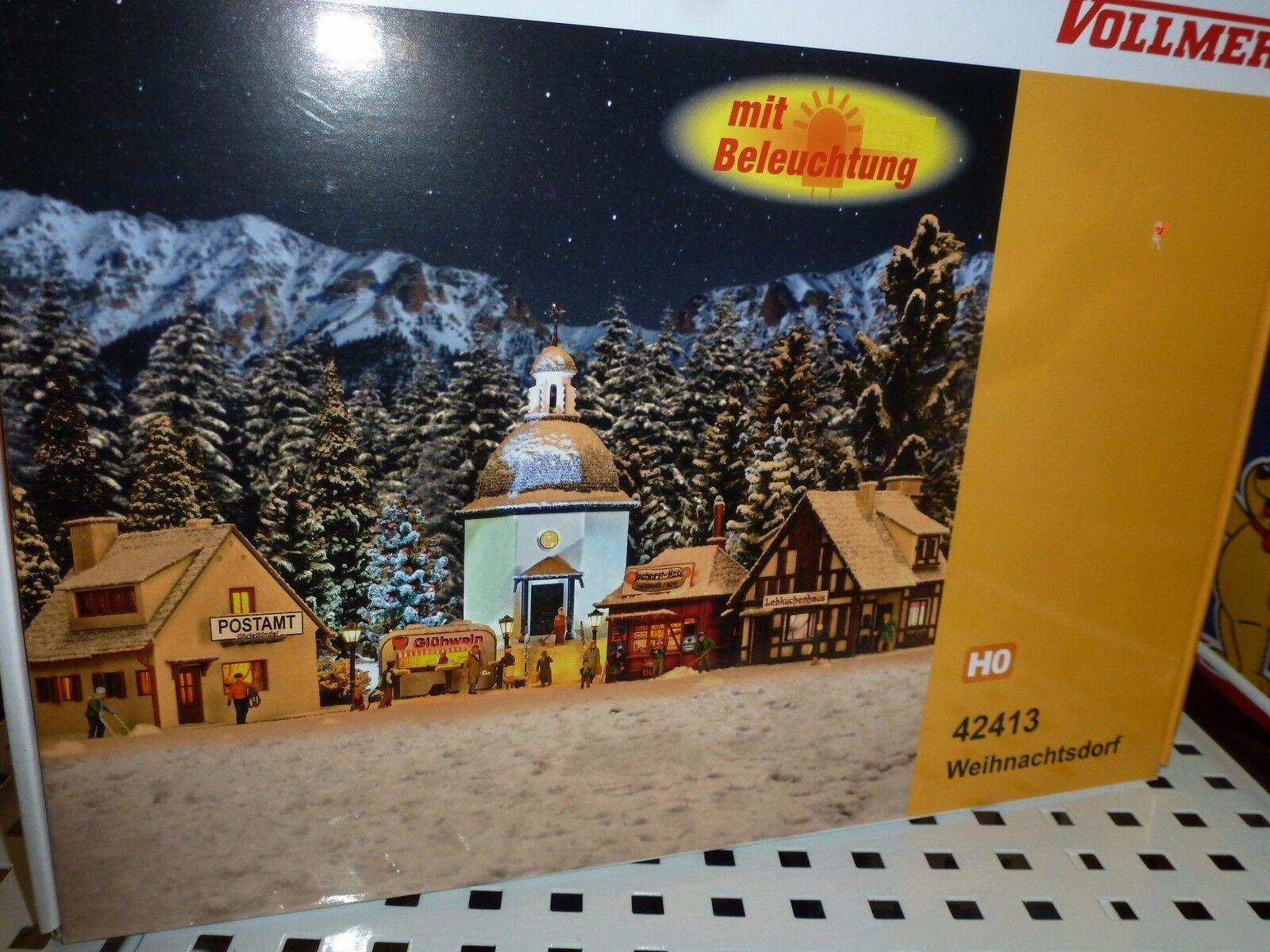 Vollmer Spur HO, Weihnachtsdorf, 5teilig, Nr. 42413  | eine breite Palette von Produkten