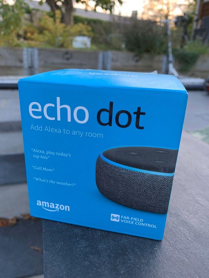 Højttaler, Andet mærke, Amazon Echo Dot 3rd Gen