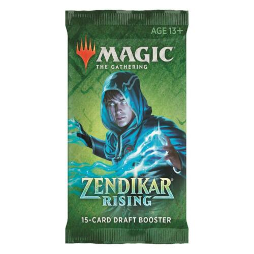Magic Mtg Zendikar Rising Draft BOOSTER PACK en OVP NUOVO