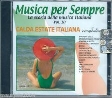 Calda Estate Italiana (2000) CD NUOVO Gianni Pettenati Bandiera Gialla Dino Baci